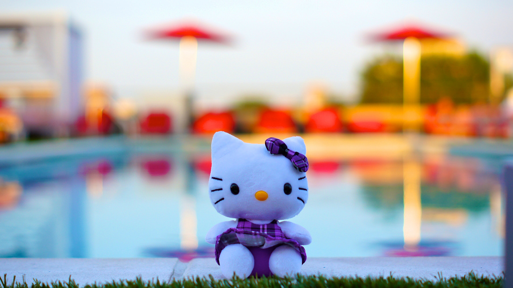 Hello Kitty at Sunset 13020