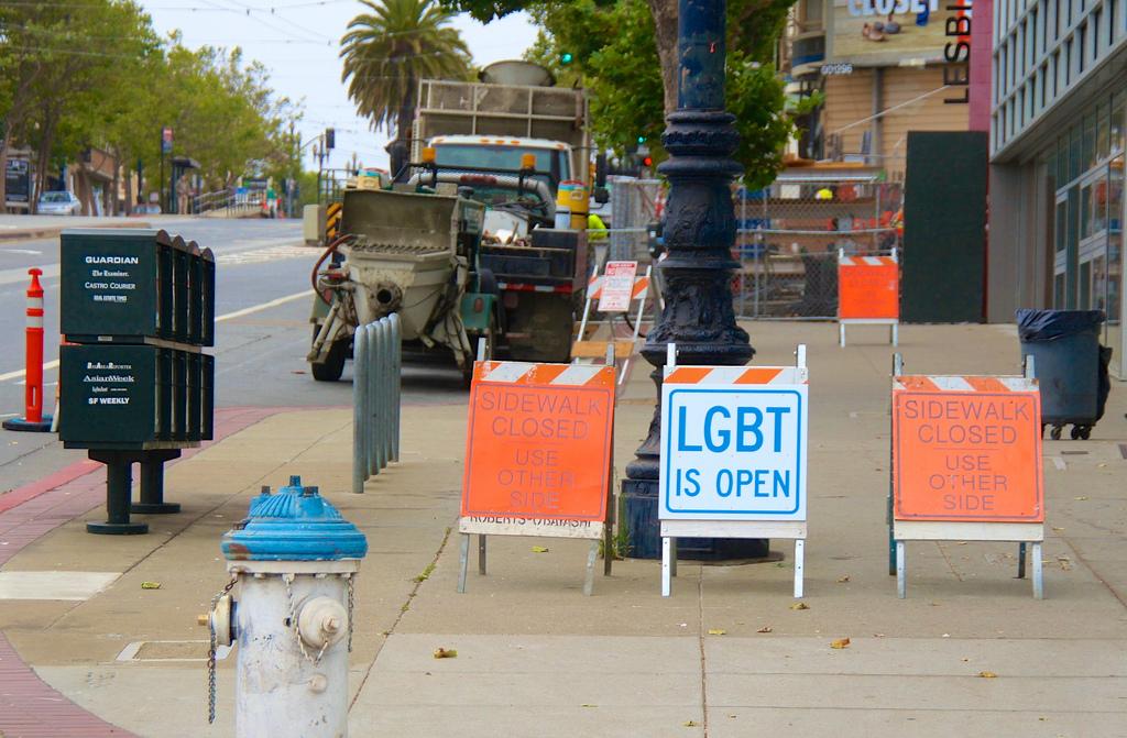 Harvey Milk's San Francisco -2012  14339