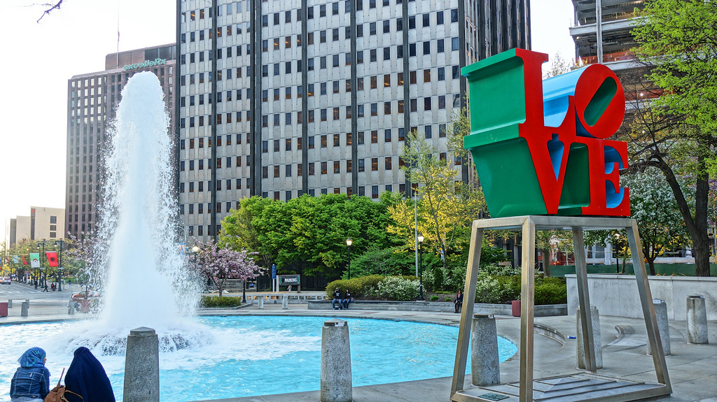 Love Sculpture and Philadelphia 23118