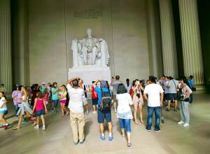 Lincoln Memorial Throughglass 27267