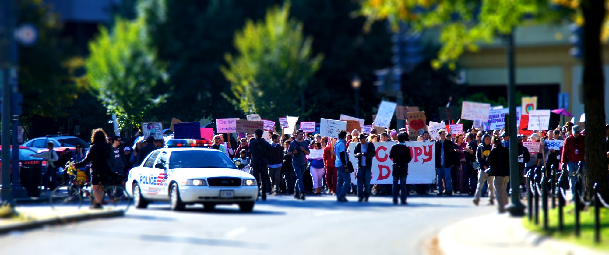 Occupy DC March - TiltShift
