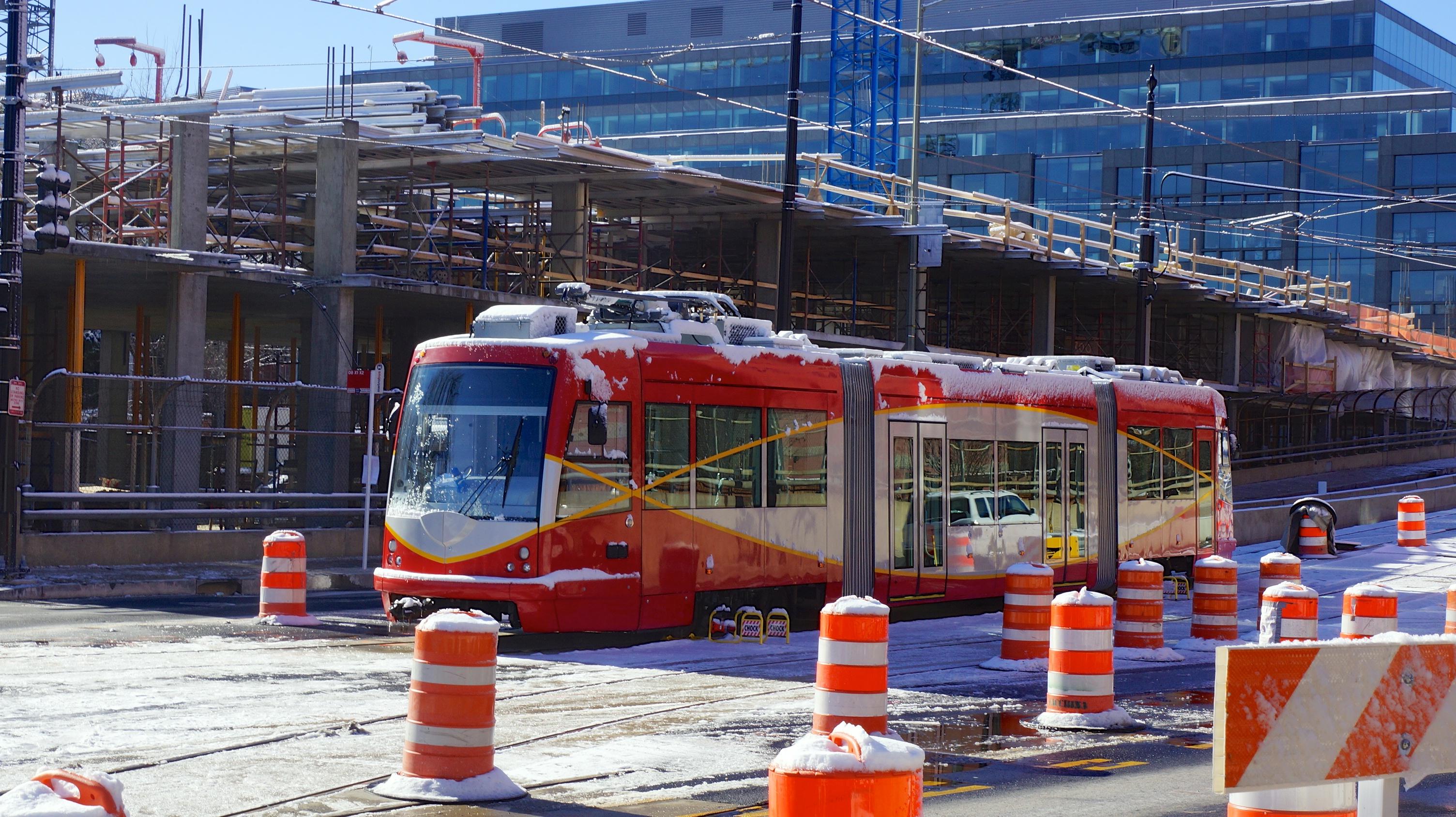 Snow DC Streetcar 35586