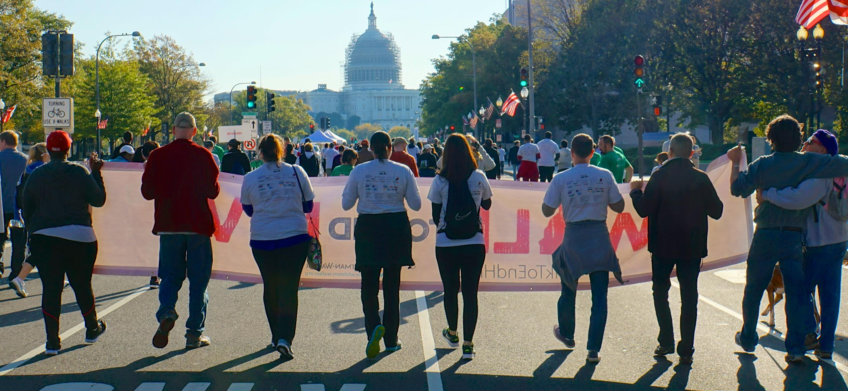 Walk to End HIV Washington DC USA 49222