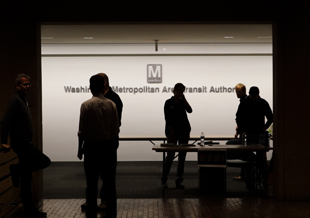 Metro Hack Night IV at WMATA HQ Washington DC USA 03120