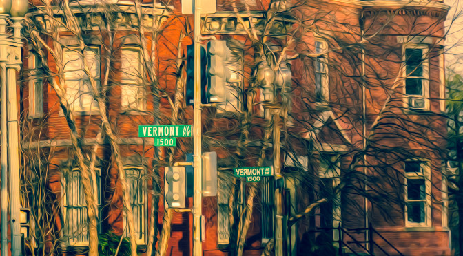 2016.03.24 Views of Vermont Avenue Washington DC USA 03