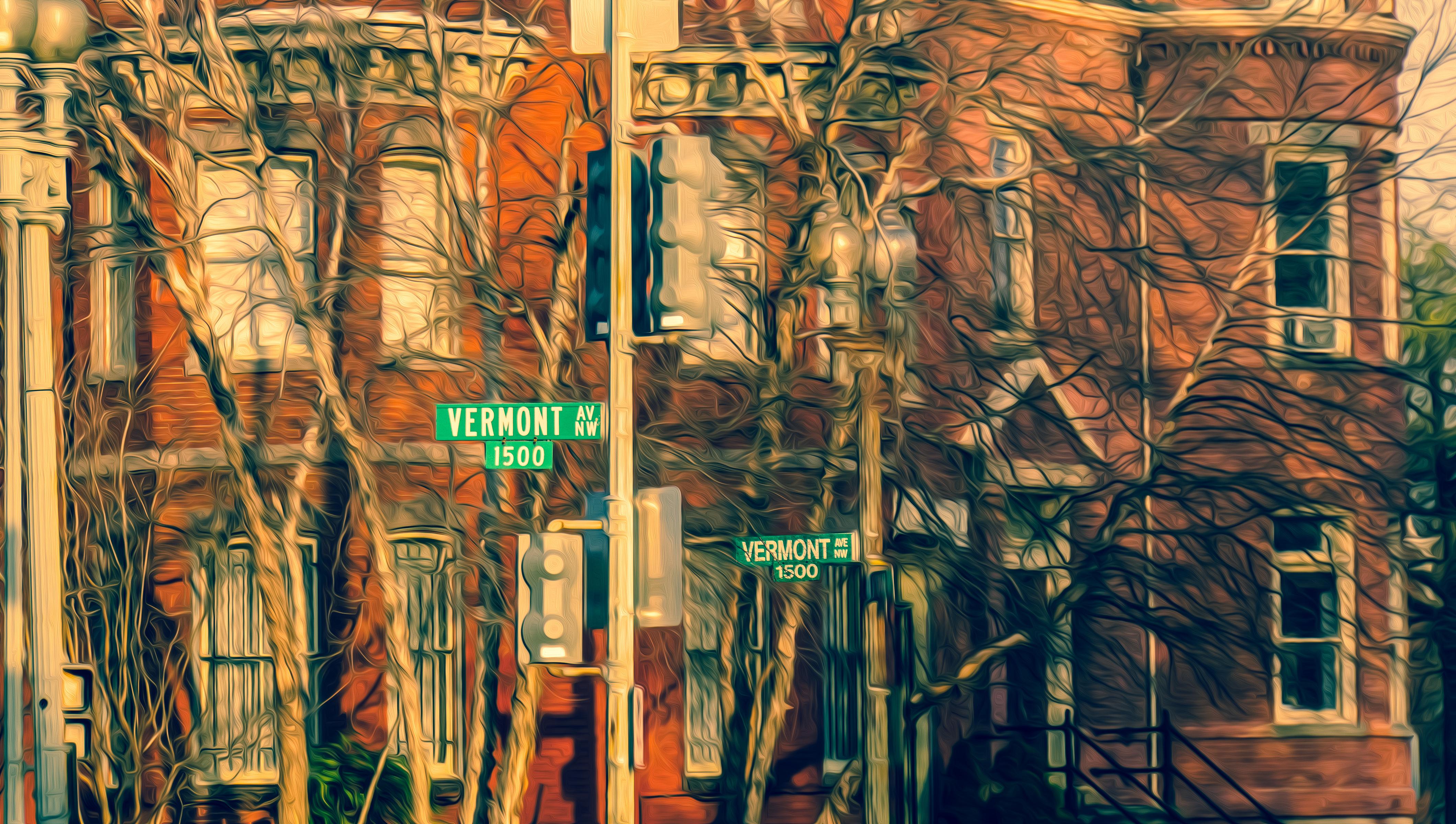 2016.03.24 Views of Vermont Avenue Washington DC USA 03