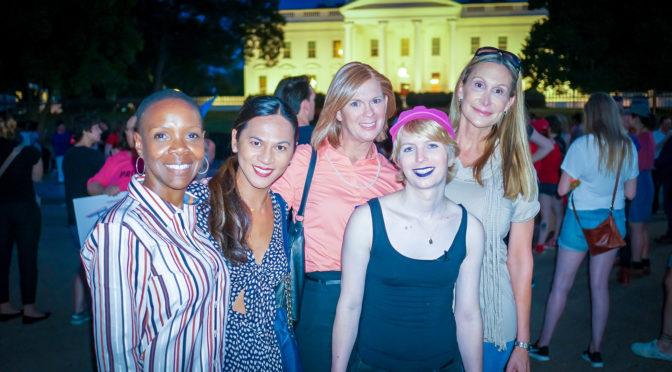 2017.07.26 Protest Trans Military Ban, White House, Washington DC USA 7689