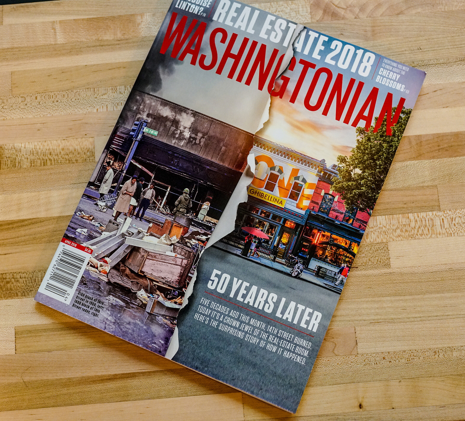 2018.04.02 Washingtonian April 2018 Issue, Washington, DC USA 2032