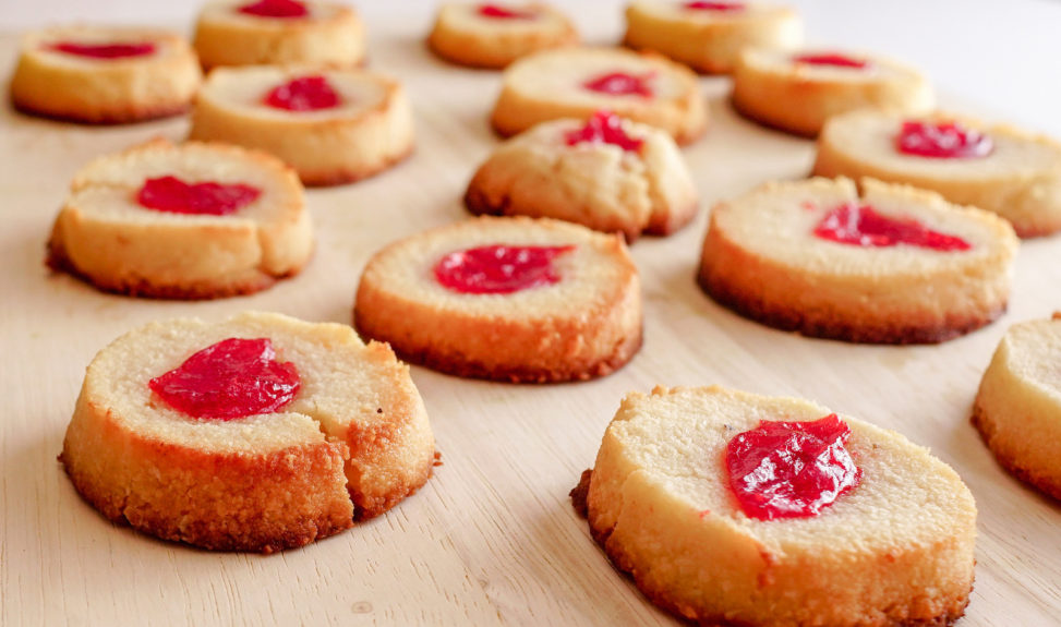 2018.11.17 Low Carbohydrate Strawberry Thumbprint Cookies, Washington, DC USA 08029