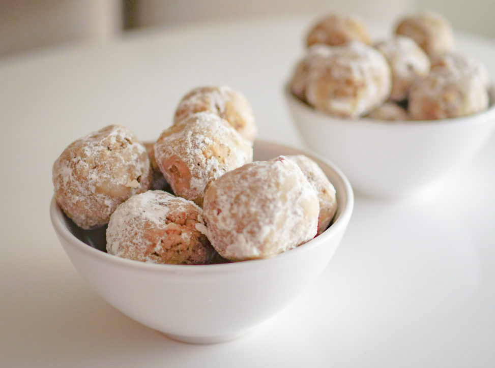 2018.12.07 Low Carbohydrate Walnut Snowball Cookies, Washington, DC USA 08960
